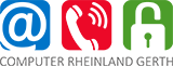 COMPUTER RHEINLAND GERTH Logo